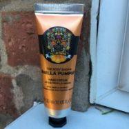 Vanilla Pumpkin Hand Cream (TheBodyshop)- 30ml